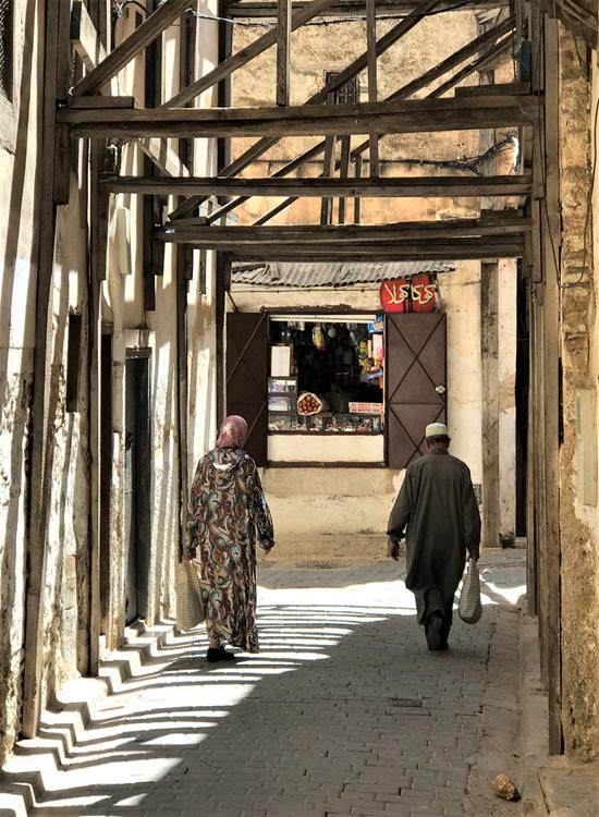 One of the many alleys in Fes