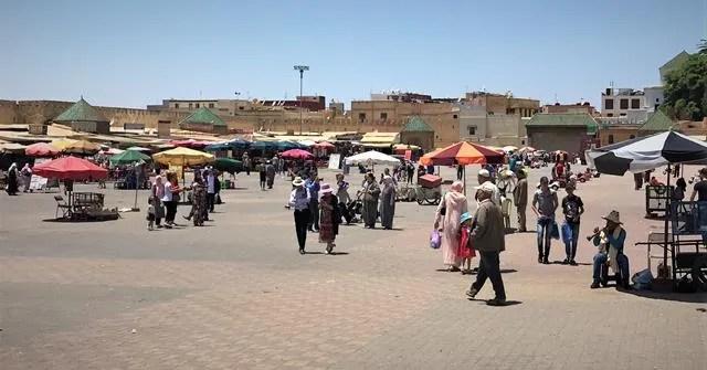 El Hadim Square Meknes