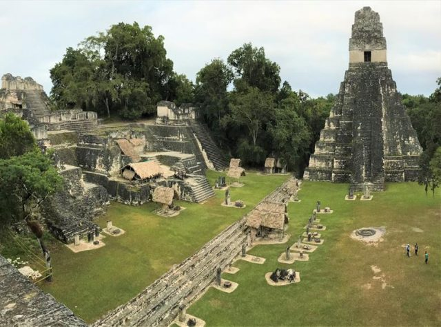 One of the ancient Mayan of Tikal