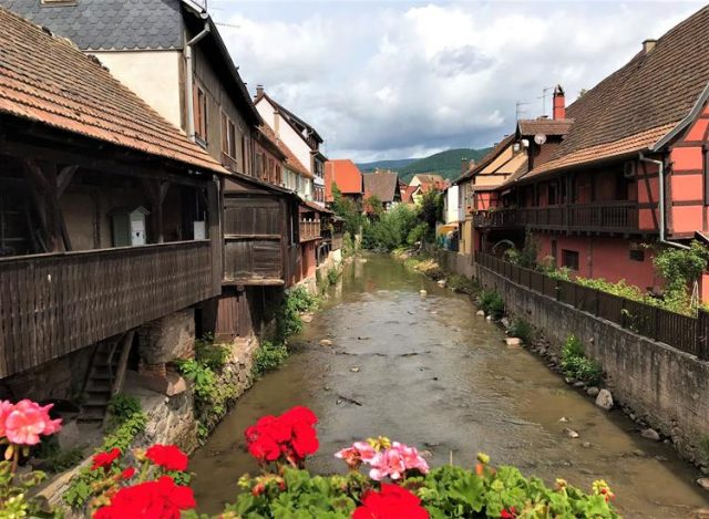 The medieval town of Kaysersberg- Alsace