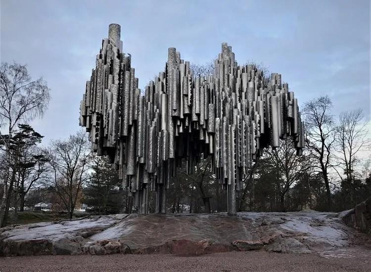 Sibelius Park and the monument, Helsinki