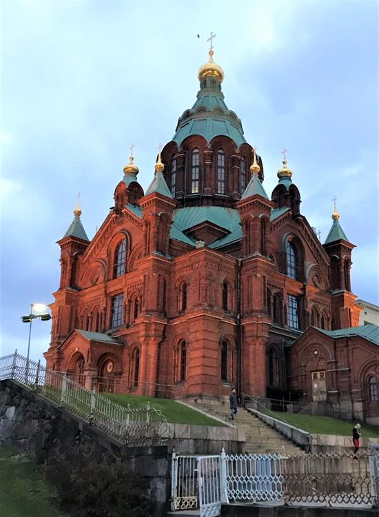 The Orthodox church Uspenski Cathedral