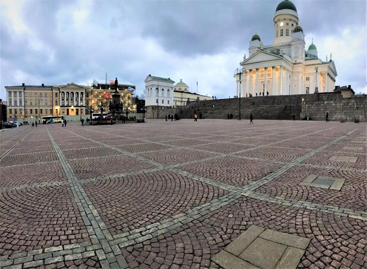Senate Square is the main tourist attractions