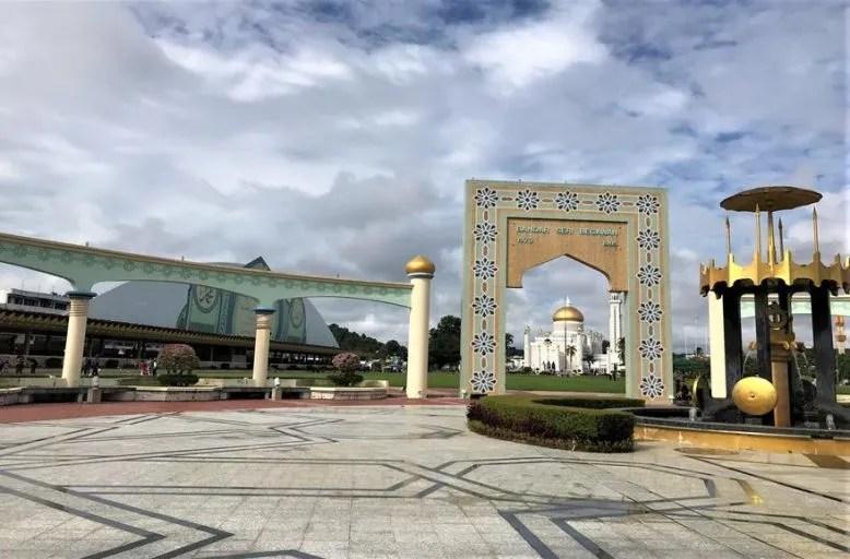 One of historic monument in Bandar Seri Begawan, Brunei