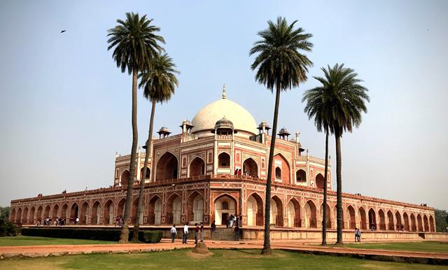 Humayun's Tomb, and the beautiful surrounding