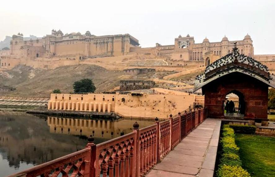 Amber Palace the most prominent sites of Jaipur