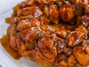 Caramel Apple Moneky Bread
