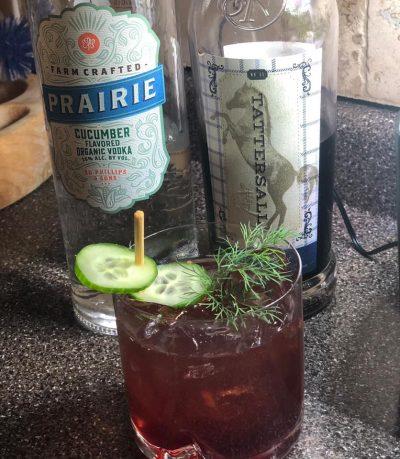 Blueberry Gin Fizz