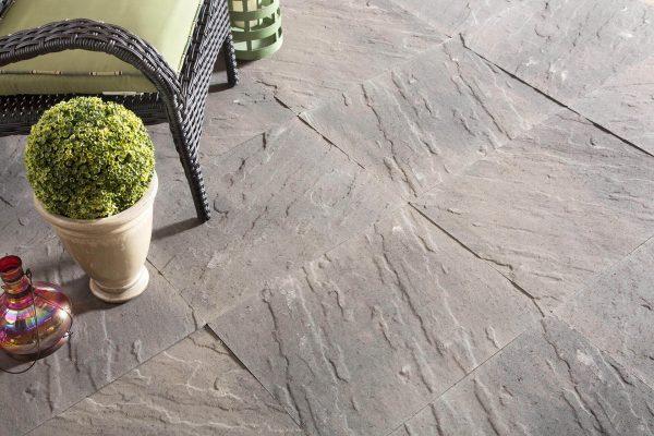 Patio Stones Nova Slate Patio Slabs Concrete Shaw Brick