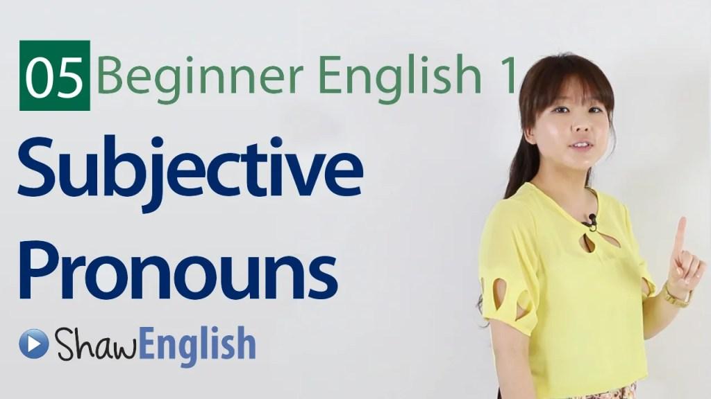 Beginner English 2