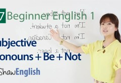 Subjective Pronouns + Be + Not