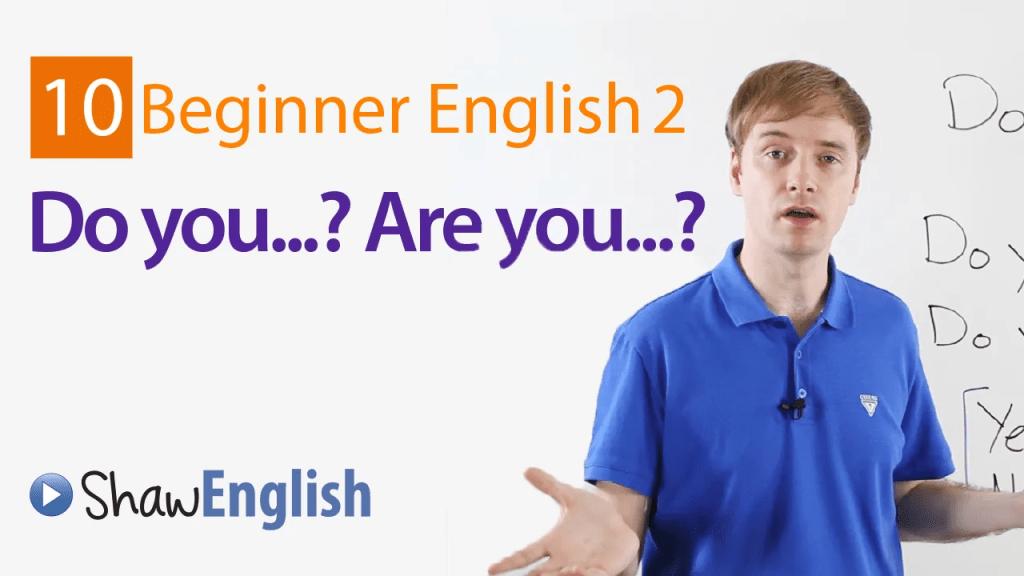 Beginner English 2-10