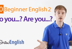 Do you…? Are you…? English Questions