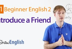 How to Introduce a Friend in English