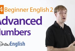 Advanced English Numbers
