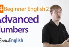 Advanced English Numbers