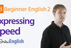 How to Express Speed in English