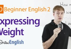 How to Express Weight in English