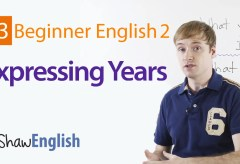 How to Express Years in English