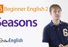 How to Express Seasons in English
