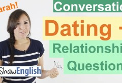 English Dating / Relationship Questions