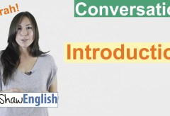 English Conversation Introduction