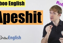 English Bad Words: Apeshit