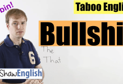 English Bad Words: Bullshit