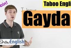 Taboo English: Gaydar