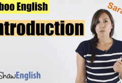 Taboo English Introduction
