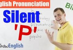 Silent 'p' Pronunciation