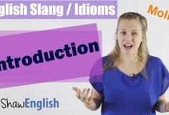 English Slang / Idioms Introduction