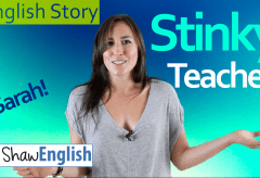 English Story: Stinky Teacher