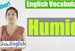Using 'Humid' in English