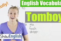 Using 'Tomboy' in English
