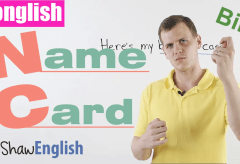 Konglish – Name Card