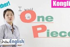 Konglish – One Piece