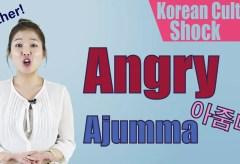 Culture Shock Korea: Angry 아줌마 (Ajjuma)
