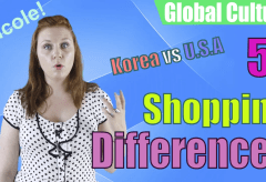 5 Shopping Differences: Korea vs USA