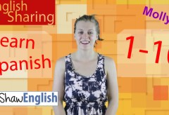 Learn Spanish 1-10 in English