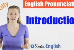 English Pronunciation Introduction