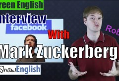 Screen English: Interview With Mark Zuckerburg