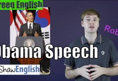 Screen English: Obama's Speech