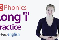 Long 'i' Vowel Practice