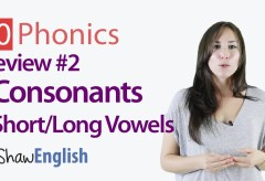 Consonants + Short / Long Vowels Review