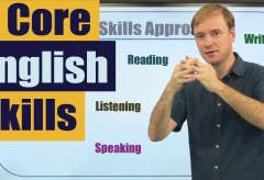 How to Study English: 4 Core English Skills