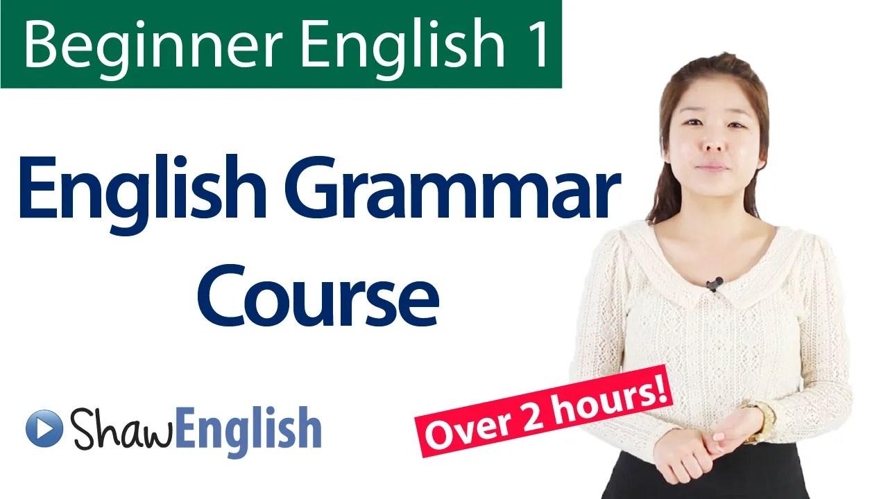 Free Grammar Course