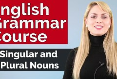 English Grammar Course | Singular and Plural Nouns #2