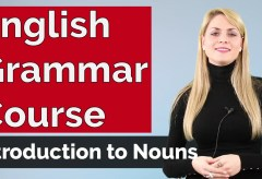 English Grammar Course | Introduction to Nouns #1