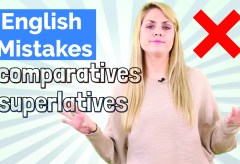 Common English Mistakes | Comparatives and Superlatives